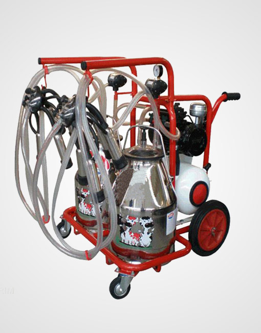 Portable Milking Machine for 2 Cows