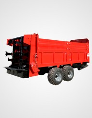 Solid Manure Spreader - Kritikos S.A.