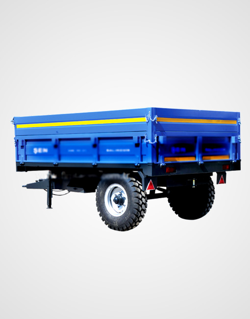 Single Axle Dump Trailer 3
