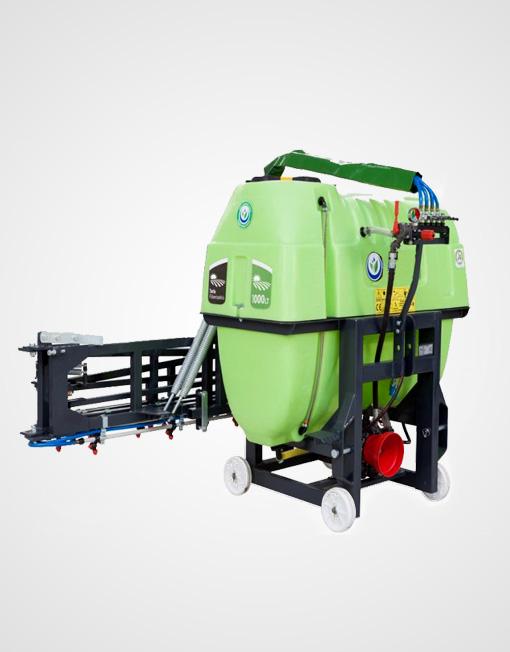 Hydraulic Lift Type Spraying Machine - Kritikos S.A.