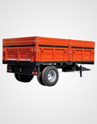 Single Axle - Double Tire - Tipping Trailer