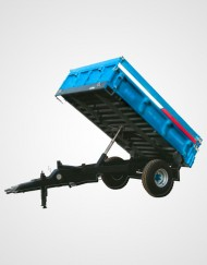 Single Axle Dump Trailer 2